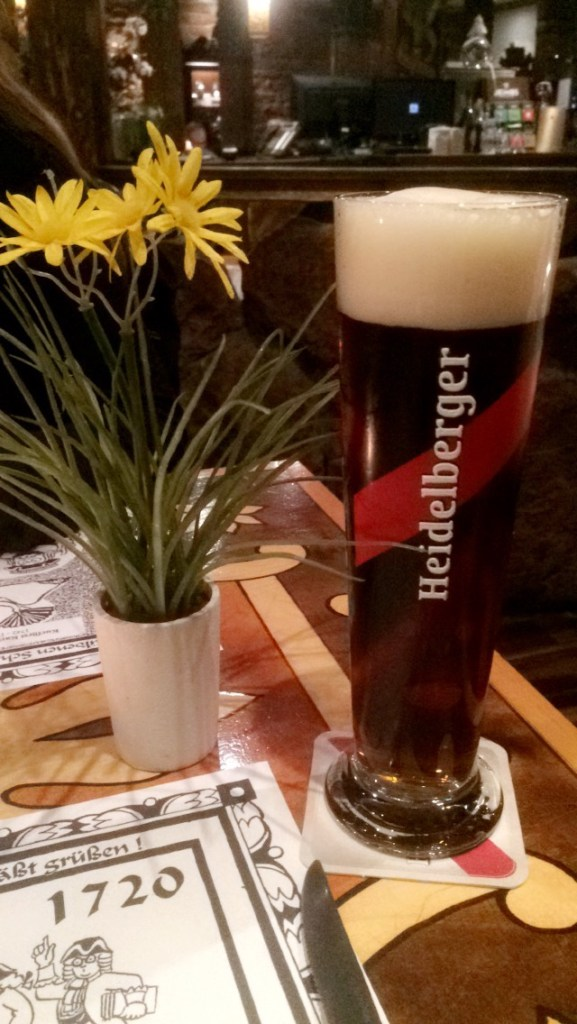 There is no better beer than a Heidelberger Dunkel - Heidelberg, Germany