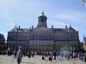 The Royal Palace at Dam Square - Amsterdam, Netherlands