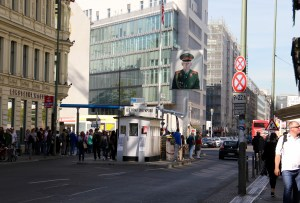What Checkpoint Charlie looks like today - Berlin, Germany