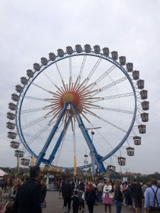 There's even a ferris wheel to ride if you tire of the beer - Munich, Germany