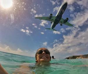 One of the coolest moments of my life, hands down - Maho Beach, St. Maarten