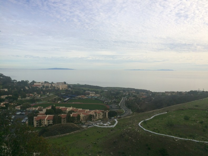 Can you believe that Pepperdine students give up this view to study abroad?