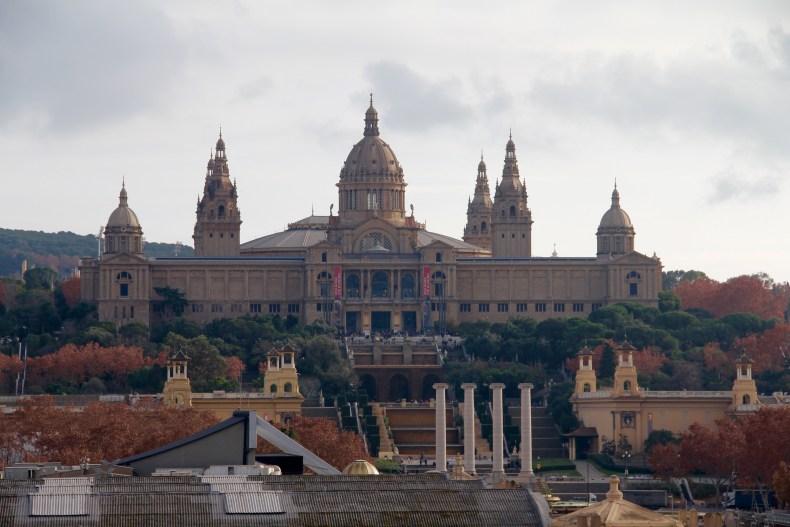 Museu Nacionál d'Art d'Catalunya in Barcelona