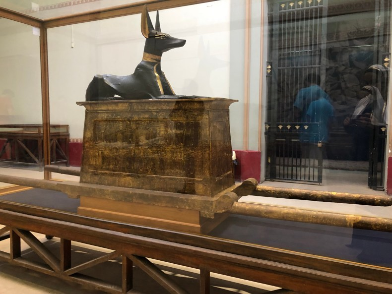 Anubis from King Tut's tomb