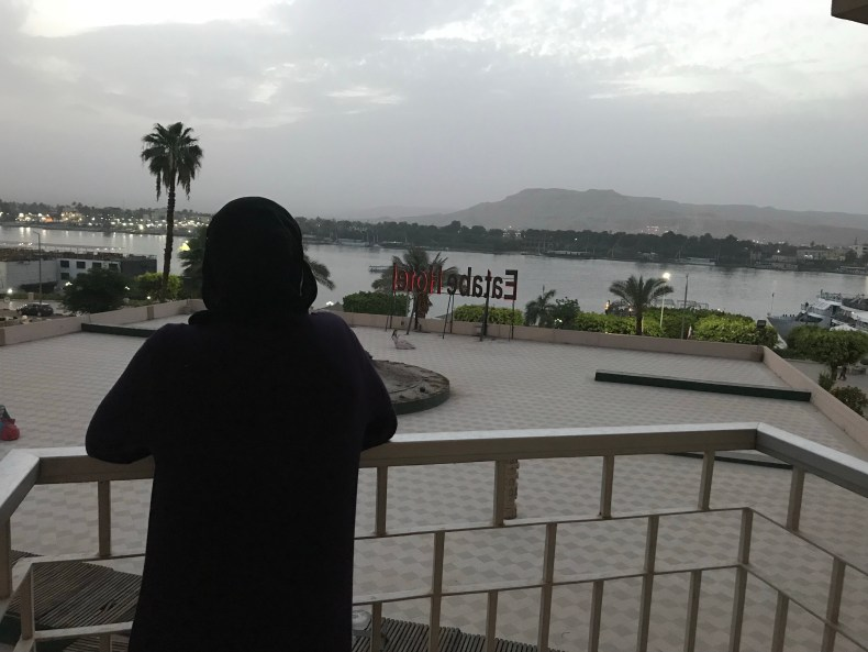 The view from my room at Eatabe Hotel. Can't beat this view over the Nile!