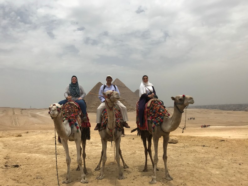 If you didn't take a picture with camels at the pyramids, did you even go to the pyramids?