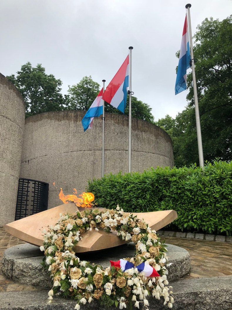 The eternal flame in Luxembourg