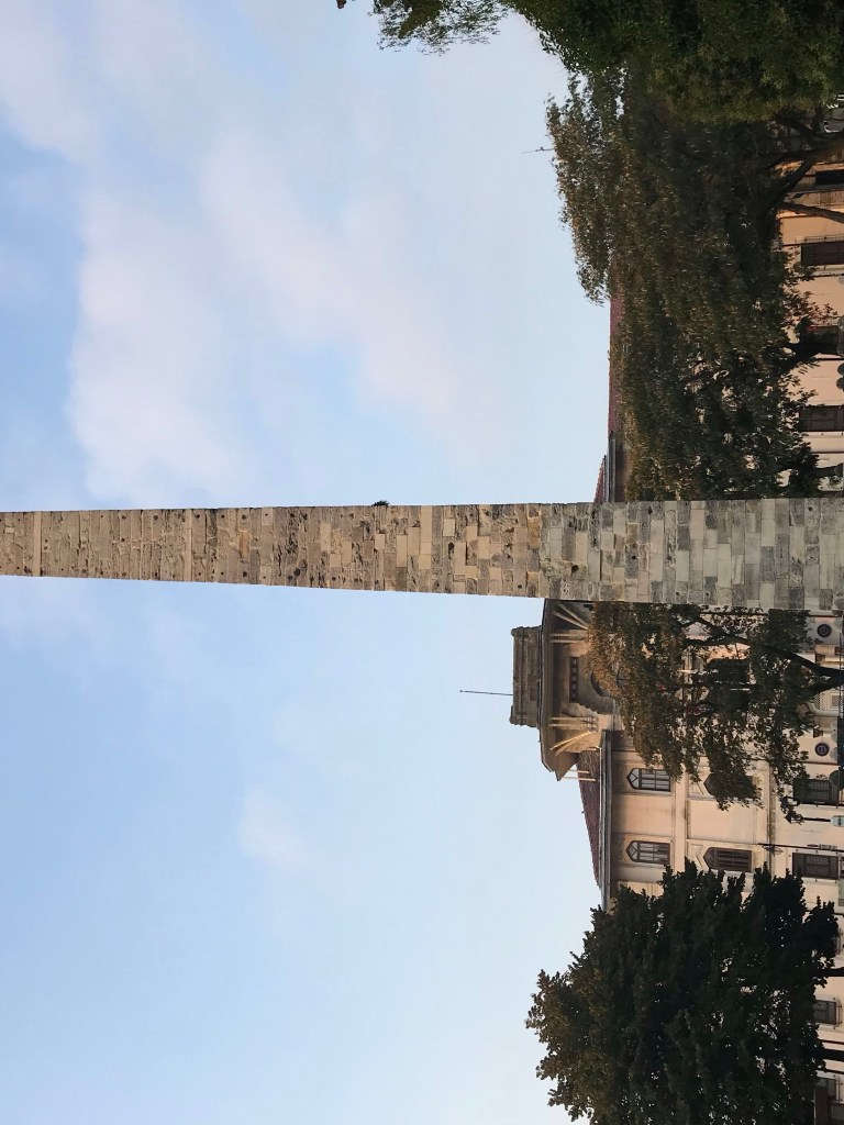 Walled Obelisk of Constantinople - The Traveling Storygirl
