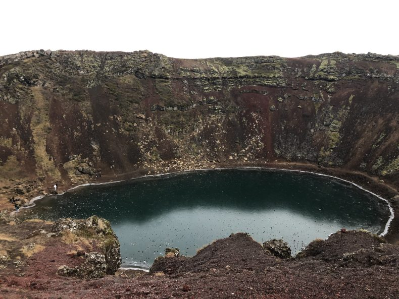 Kerid Crater Iceland - The Traveling Storygirl