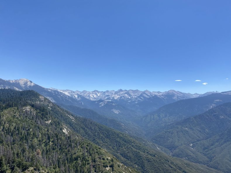The Great Western Divide - Sequoia National Park
