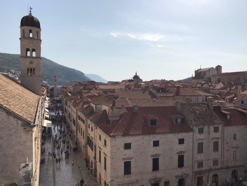 Dubrovnik Walls - The Traveling Storygirl