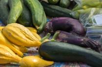 Colorful Vegetables at Idaho Falls Farmers Market