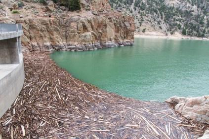 Buffalo Bill Dam Intake
