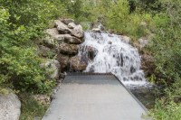Waterfall at LSR Trail