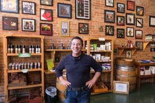 Robert Kravitz at Bisbee Olive Oil
