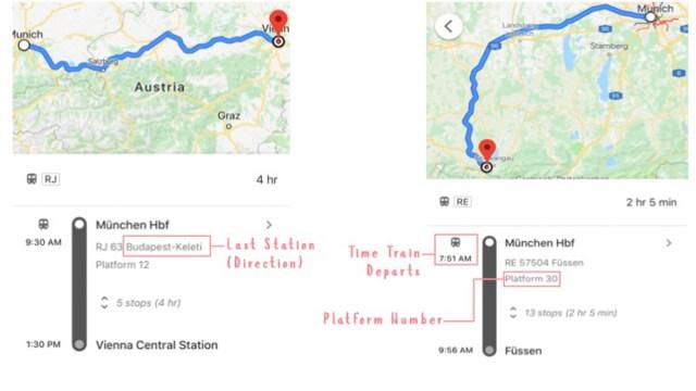Train information - Eurail pass guide_