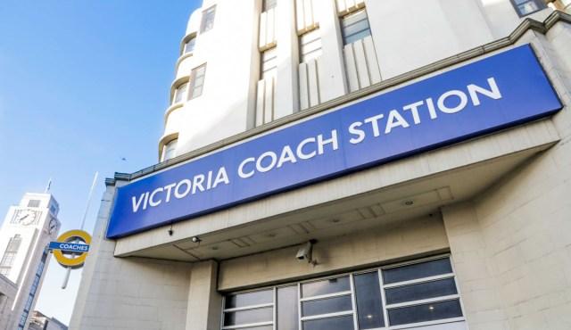 Victoria Coach Station - Scotland Wales London Itinerary BritRail Pass