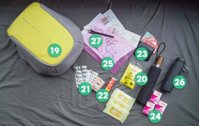 Daypack Essentials for Long Term Travel - Travel Packing List