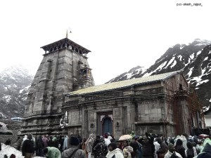 A view from Kedarnath Temple