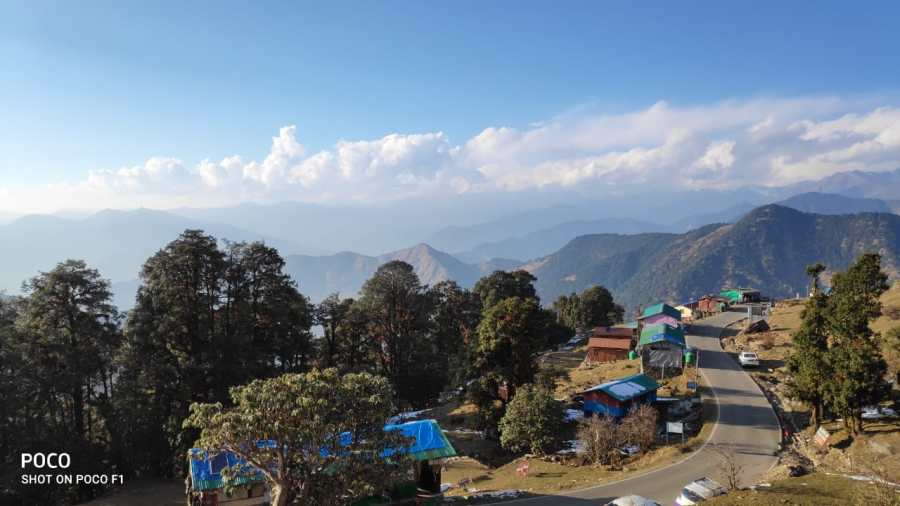 view of Chopta Valley