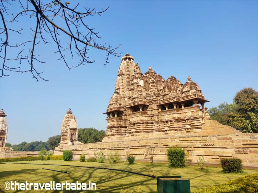 A view of Khajuraho group of monuments.