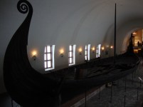Viking ship in a museum. That was a grand view!