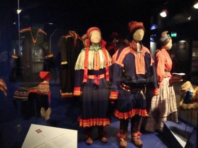 Saami Clothing in Folk Museum in Oslo, Norway