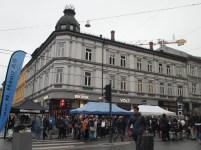 Bogstadveien street market