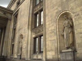 Palace of Culture and Science statues
