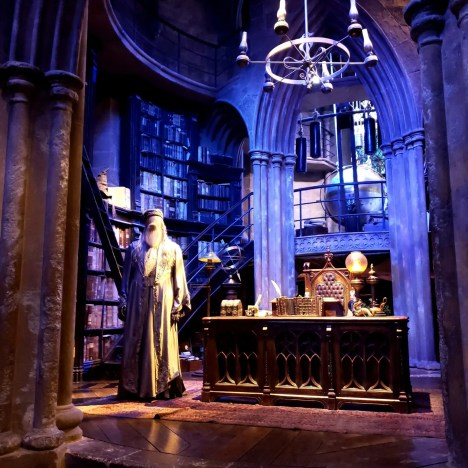 Dumbledore's Office Harry Potter Warner Brothers Studio Tour London