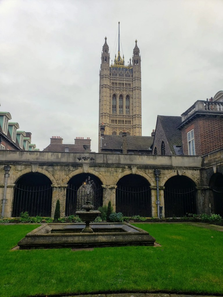 Cloisters, Westminster Abbey, London
