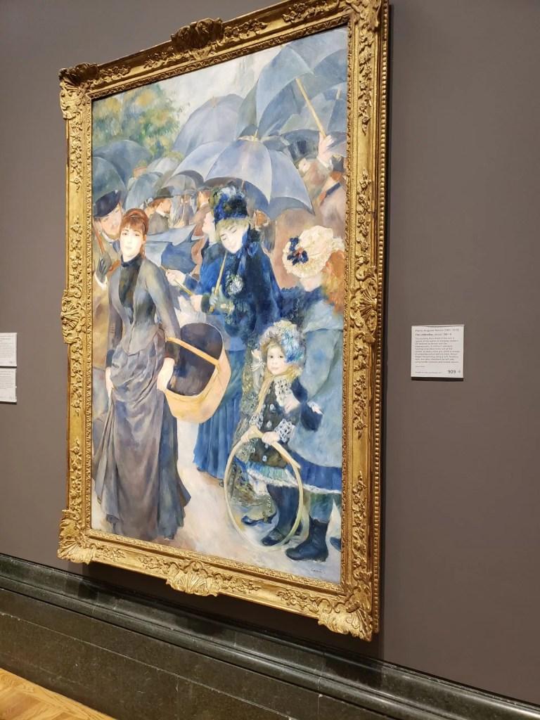 The Umbrellas, Renoir, National Gallery