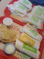 Budget road trip tip... visit del taco and complete their survey to save $1 each!