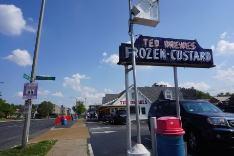 Ted Drewes Frozen Custard on Route 66