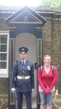 Guards in London Outside Buckingham Palace in 2008