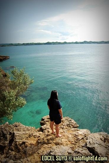 cliff at Villa Igang