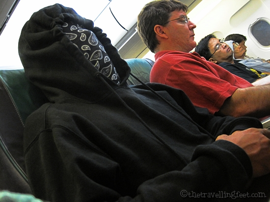 The Masked Passenger of Cebu Pacific bound for Cebu