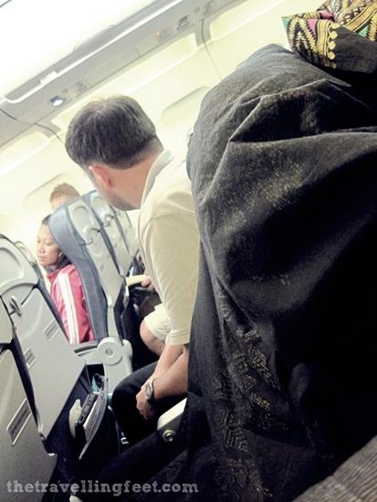 Cebu Pacific Flight to Bangkok