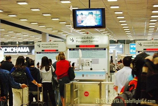 Thai Immigration Counter