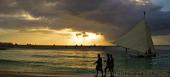 Strangers on the Road: Strolling in the Paradise Island Boracay