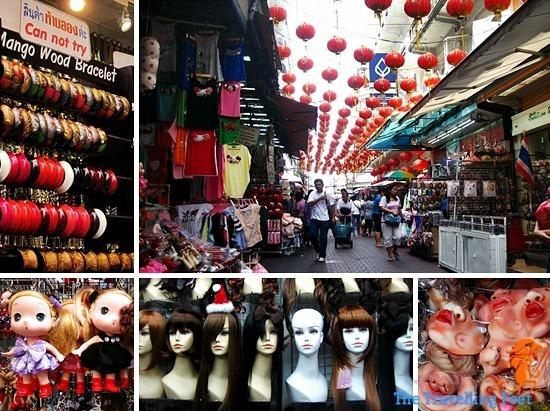Chinatown - cheap shopping malls in bangkok