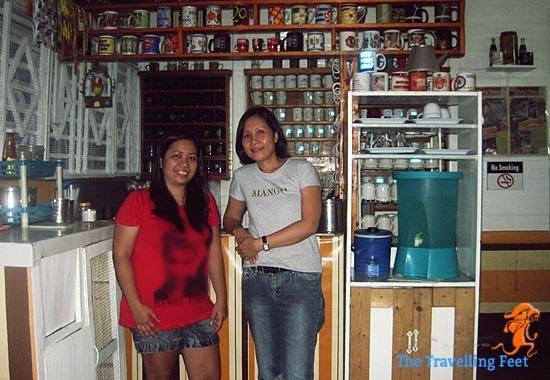 me and Ms. Soc Romano of DB's Hometel