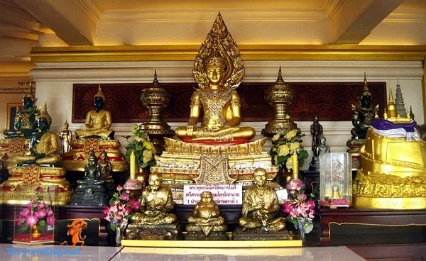 different statues of Buddha