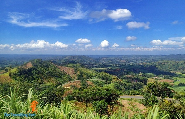 vast landscape of Bukidnon