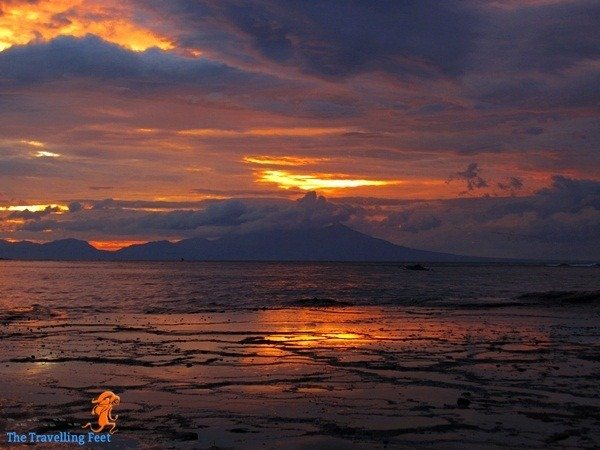 Biri Island sunset