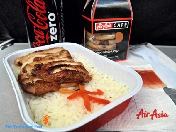 Uncle Chin Chicken Rice Meal via AirAsia