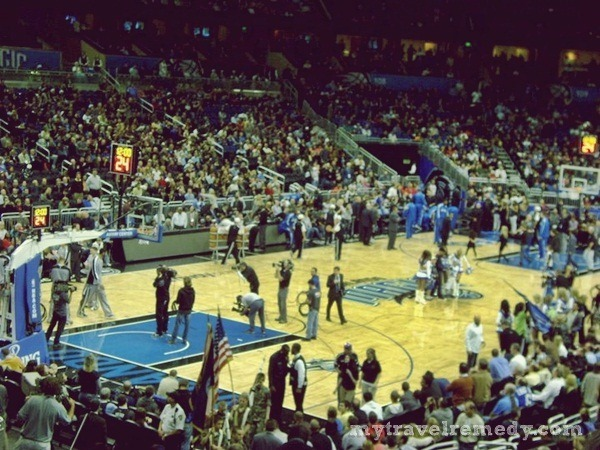 watch a basketball game in Orlando