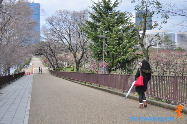 Gangizaka slope