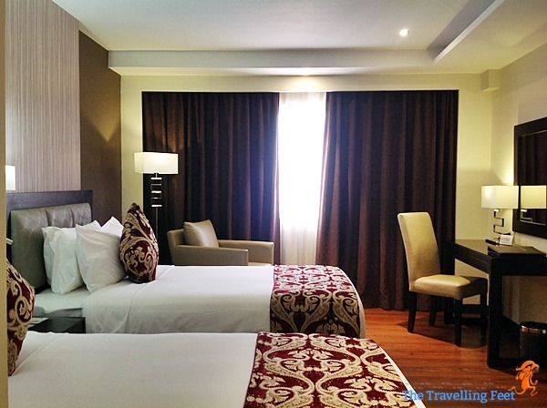Superior twin room at brentwood suites