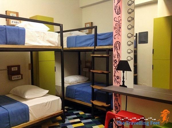 ladies dorm at the junction hostel